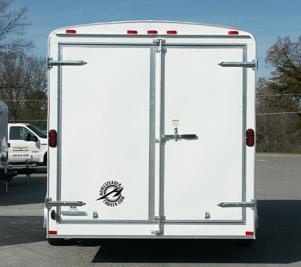Popular Options & Hercules Enclosed Cargo Trailers | Homesteader Trailers pezcame.com