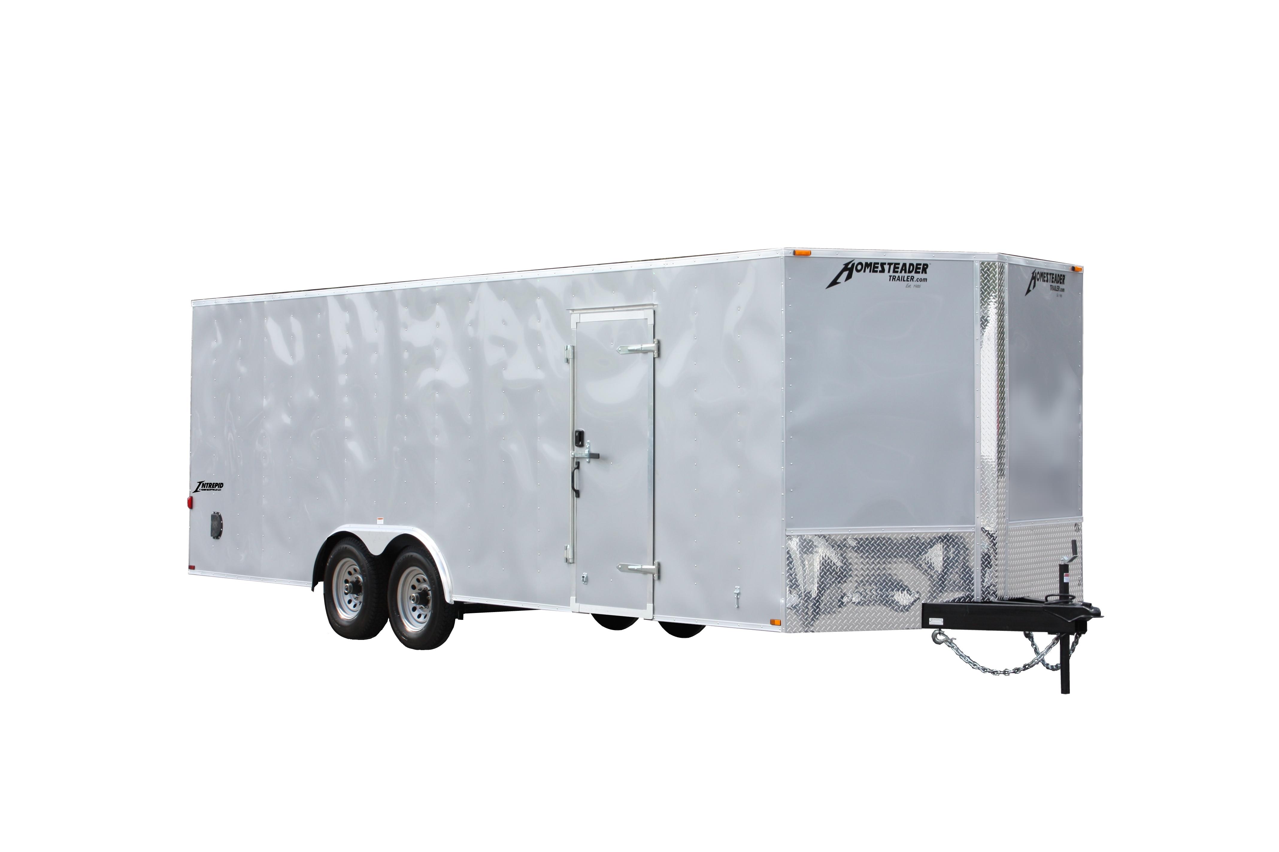 Aluma Motorcycle Trailer Wiring Diagram : Intrepid homesteader trailer