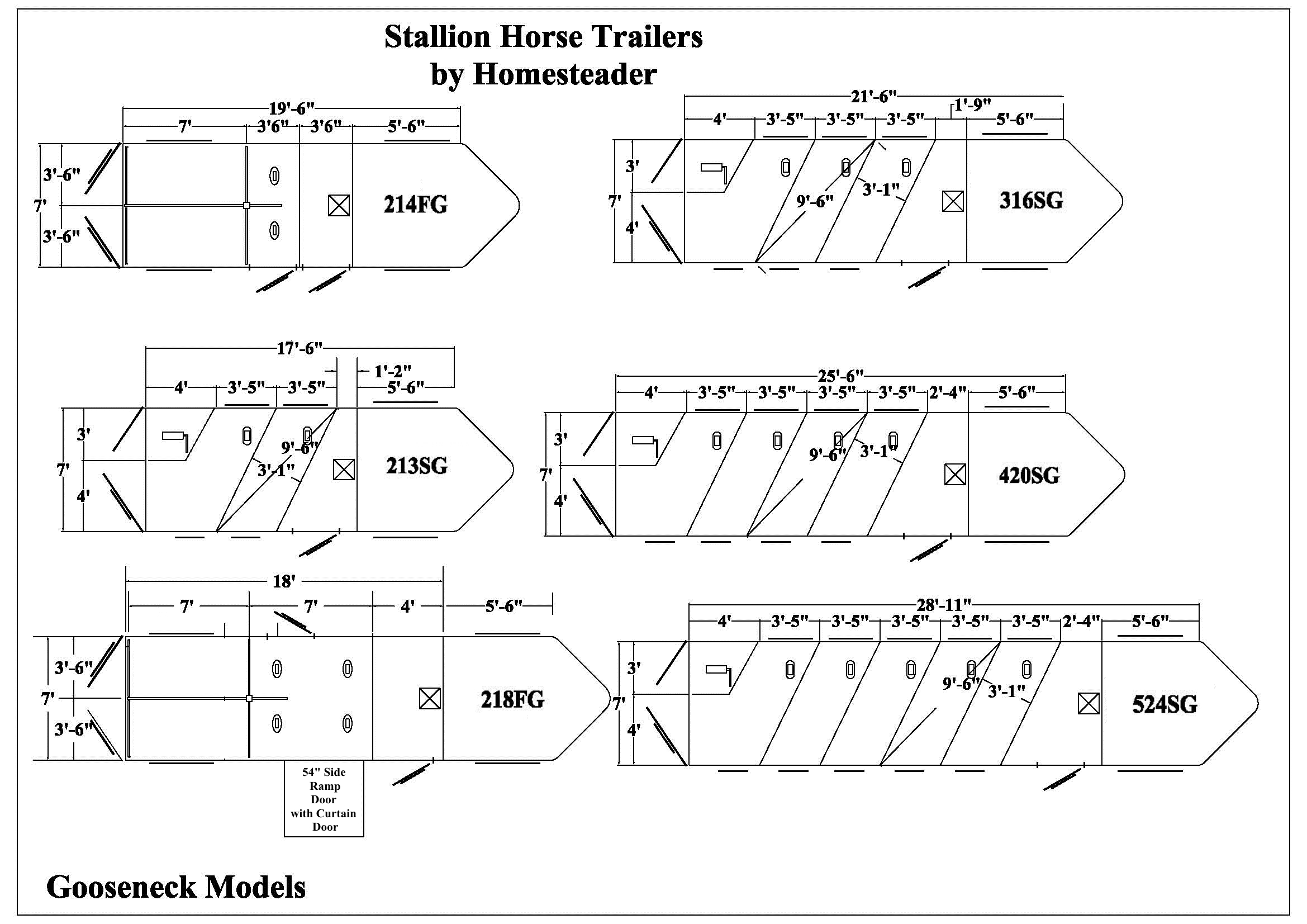 stallion horse trailers homesteader trailers