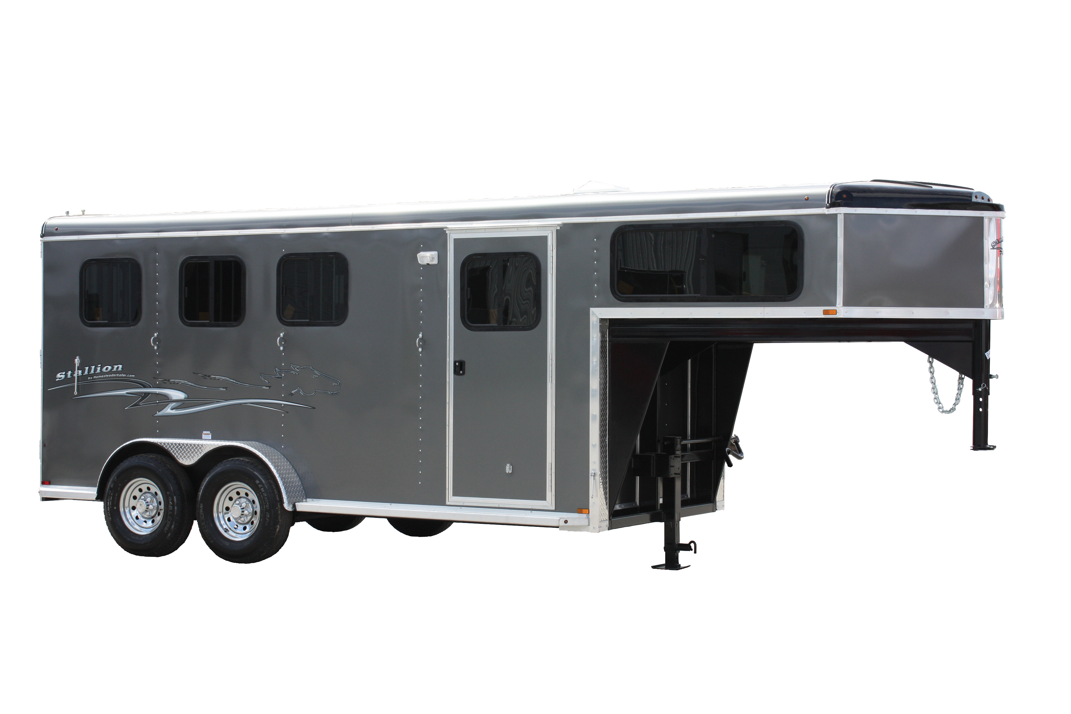 original gooseneck living kiefer awning trailer with horse rental awnings quarters trailers sales valley elk and