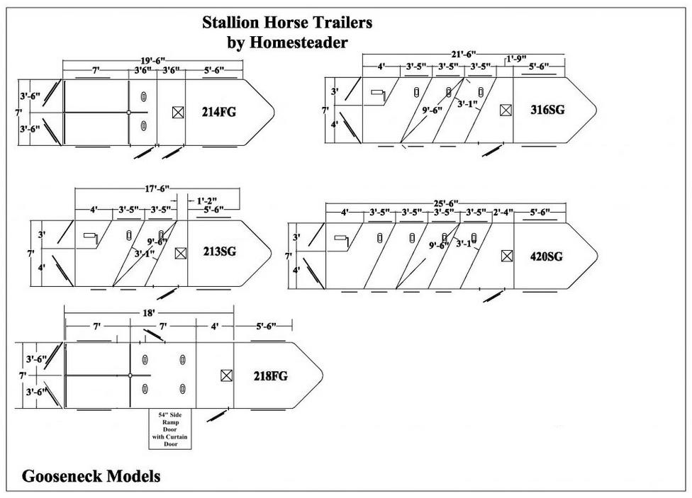 Stallion Series Homesteader Trailer