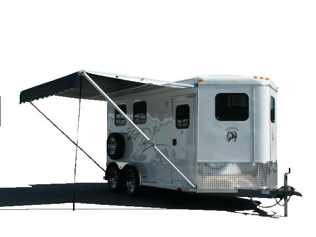 awning challenger enclosed cargo trailers homesteader trailers 6X10 Enclosed Trailer at crackthecode.co