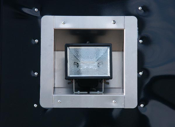 exterior recessed lights champion enclosed car trailers homesteader trailers